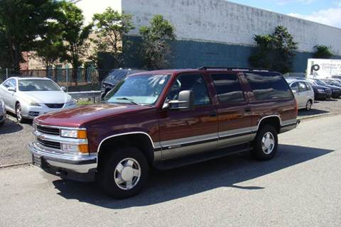 1998 Chevrolet Suburban for sale at Positive Auto Sales, LLC in Hasbrouck Heights NJ