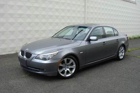 2009 BMW 5 Series for sale at Positive Auto Sales, LLC in Hasbrouck Heights NJ