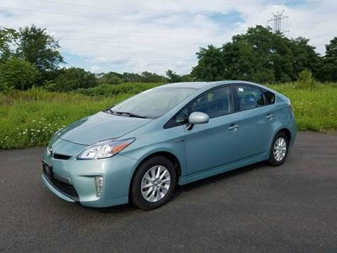 2014 Toyota Prius Plug-in Hybrid for sale at Positive Auto Sales, LLC in Hasbrouck Heights NJ