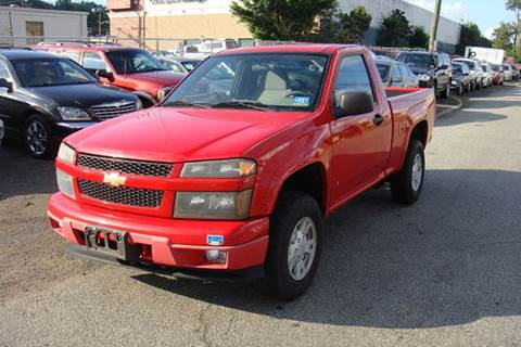 2008 Chevrolet Colorado for sale at Positive Auto Sales, LLC in Hasbrouck Heights NJ