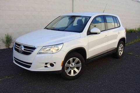 2010 Volkswagen Tiguan for sale at Positive Auto Sales, LLC in Hasbrouck Heights NJ
