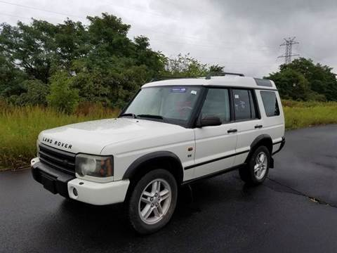 2003 Land Rover Discovery for sale at Positive Auto Sales, LLC in Hasbrouck Heights NJ
