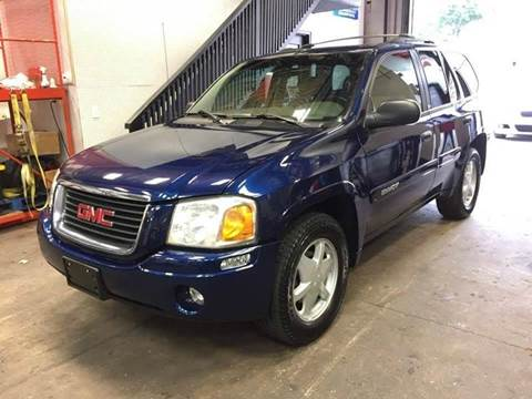 2003 GMC Envoy for sale at Positive Auto Sales, LLC in Hasbrouck Heights NJ