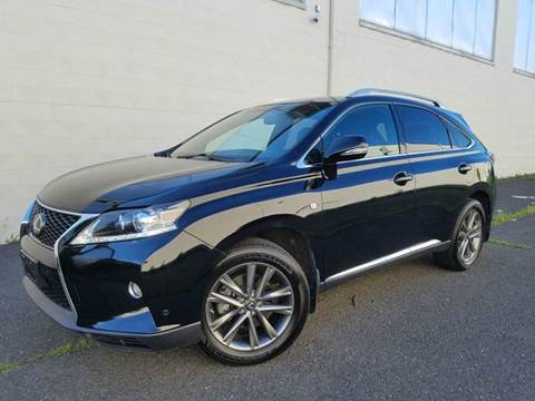 2013 Lexus RX 350 for sale at Positive Auto Sales, LLC in Hasbrouck Heights NJ