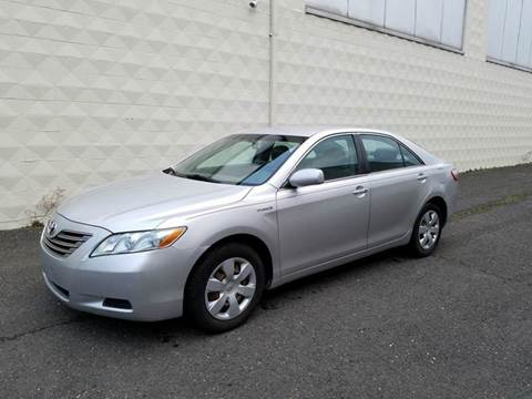 2009 Toyota Camry Hybrid for sale at Positive Auto Sales, LLC in Hasbrouck Heights NJ