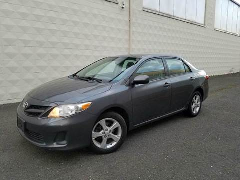 2011 Toyota Corolla for sale at Positive Auto Sales, LLC in Hasbrouck Heights NJ