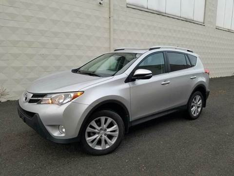 2013 Toyota RAV4 for sale at Positive Auto Sales, LLC in Hasbrouck Heights NJ
