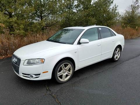 2007 Audi A4 for sale at Positive Auto Sales, LLC in Hasbrouck Heights NJ