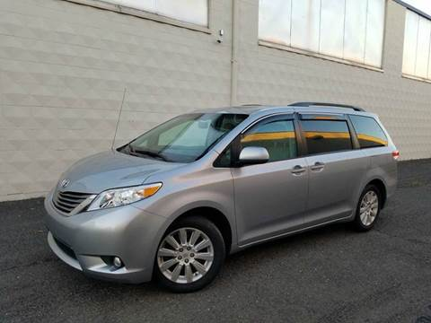 2012 Toyota Sienna for sale at Positive Auto Sales, LLC in Hasbrouck Heights NJ