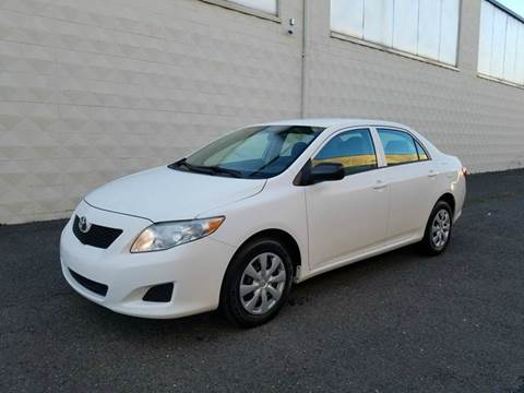 2010 Toyota Corolla for sale at Positive Auto Sales, LLC in Hasbrouck Heights NJ