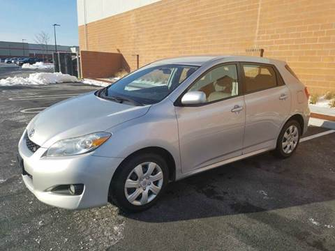 2010 Toyota Matrix for sale at Positive Auto Sales, LLC in Hasbrouck Heights NJ