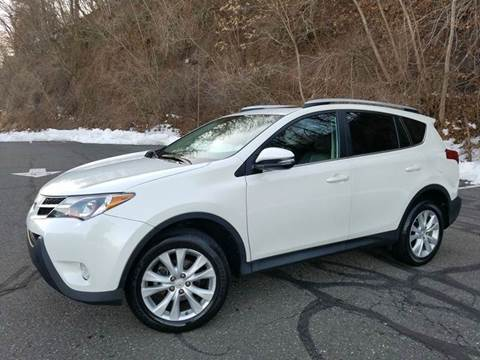 2014 Toyota RAV4 for sale at Positive Auto Sales, LLC in Hasbrouck Heights NJ
