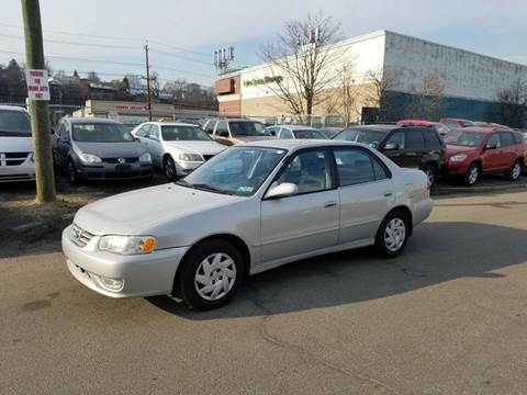 2001 Toyota Corolla for sale at Positive Auto Sales, LLC in Hasbrouck Heights NJ