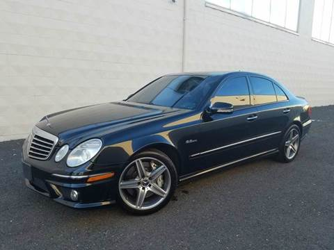 2007 Mercedes-Benz E-Class for sale at Positive Auto Sales, LLC in Hasbrouck Heights NJ