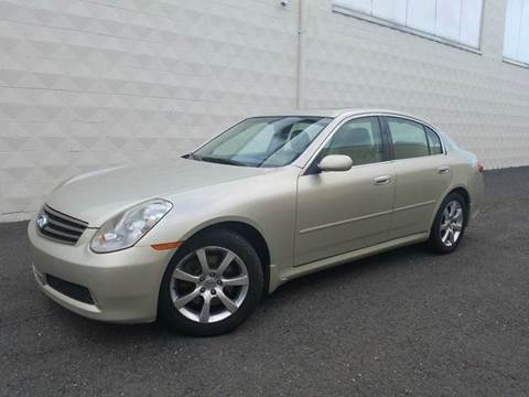 2006 Infiniti G35 for sale at Positive Auto Sales, LLC in Hasbrouck Heights NJ
