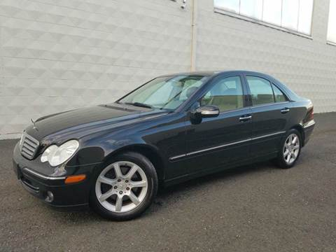 2007 Mercedes-Benz C-Class for sale at Positive Auto Sales, LLC in Hasbrouck Heights NJ