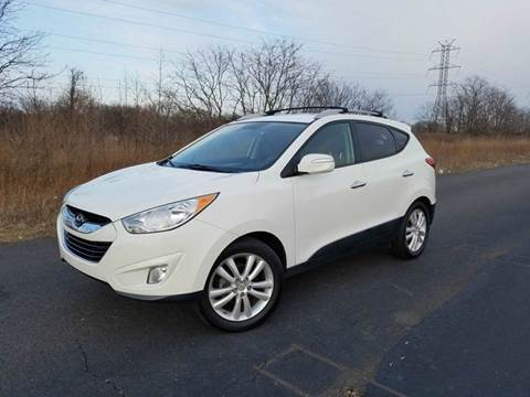 2011 Hyundai Tucson for sale at Positive Auto Sales, LLC in Hasbrouck Heights NJ