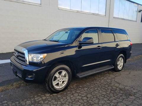 2009 Toyota Sequoia for sale at Positive Auto Sales, LLC in Hasbrouck Heights NJ