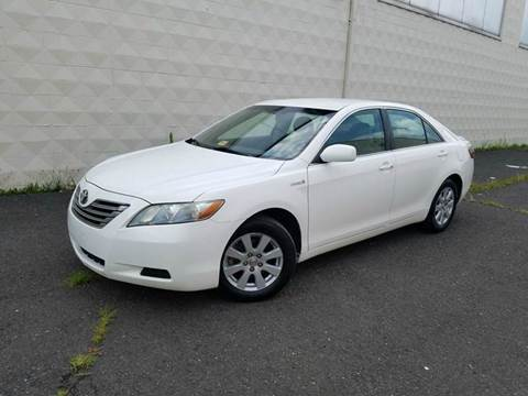 2007 Toyota Camry Hybrid for sale at Positive Auto Sales, LLC in Hasbrouck Heights NJ