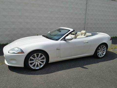 2007 Jaguar XK-Series for sale at Positive Auto Sales, LLC in Hasbrouck Heights NJ