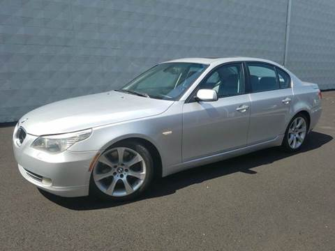 2008 BMW 5 Series for sale at Positive Auto Sales, LLC in Hasbrouck Heights NJ