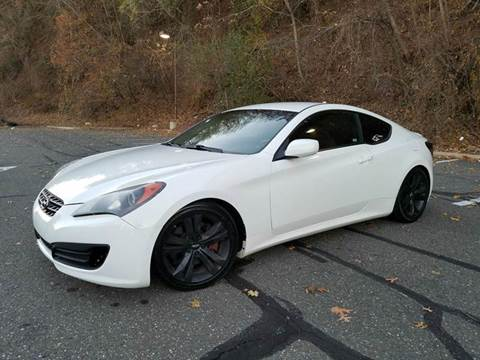 2012 Hyundai Genesis Coupe for sale at Positive Auto Sales, LLC in Hasbrouck Heights NJ