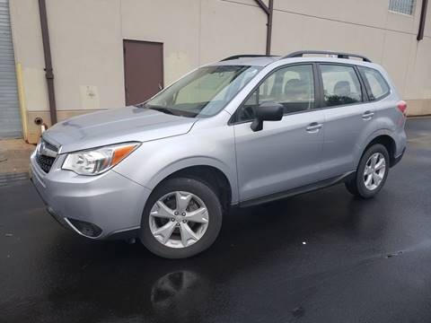 2016 Subaru Forester for sale at Positive Auto Sales, LLC in Hasbrouck Heights NJ