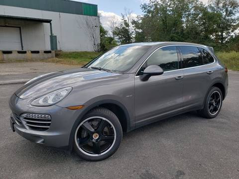 2013 Porsche Cayenne for sale at Positive Auto Sales, LLC in Hasbrouck Heights NJ
