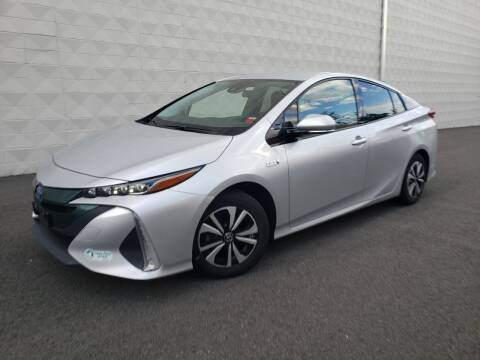 2017 Toyota Prius Prime for sale at Positive Auto Sales, LLC in Hasbrouck Heights NJ