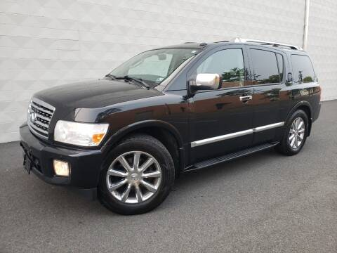 2010 Infiniti QX56 for sale at Positive Auto Sales, LLC in Hasbrouck Heights NJ