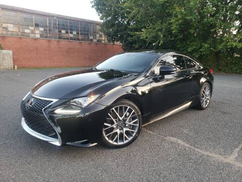 2016 Lexus RC 200t for sale at Positive Auto Sales, LLC in Hasbrouck Heights NJ