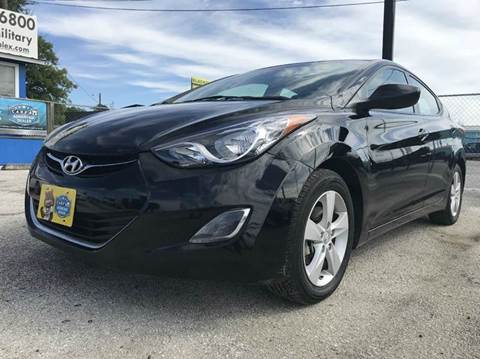 2013 Hyundai Elantra for sale at Atrium Autoplex in San Antonio TX