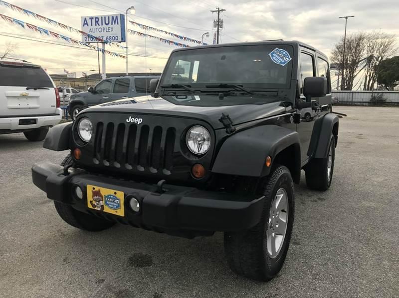 2012 Jeep Wrangler for sale at Atrium Autoplex in San Antonio TX