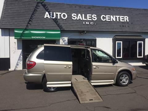 2007 Dodge Grand Caravan Wheelchair Van for sale in Holyoke, MA