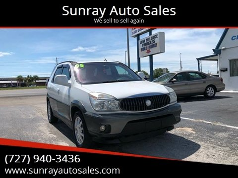 2005 Buick Rendezvous for sale at Sunray Auto Sales Inc. in Holiday FL