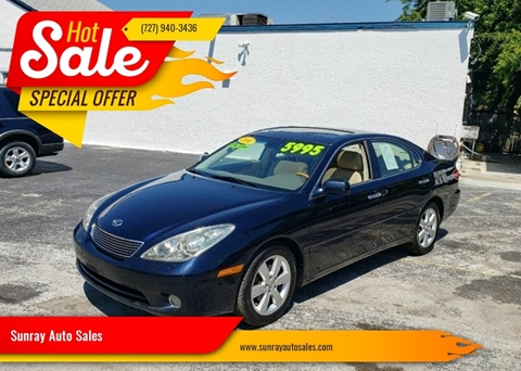 2006 Lexus ES 330 for sale at Sunray Auto Sales Inc. in Holiday FL