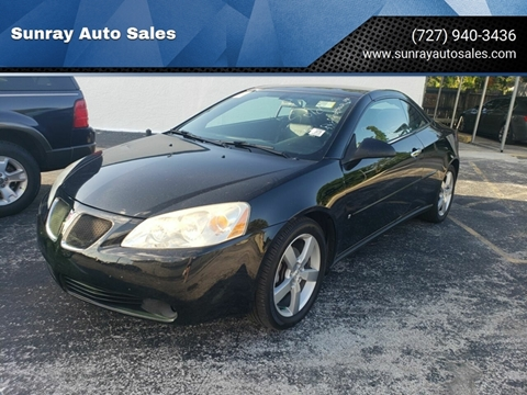 2006 Pontiac G6 for sale at Sunray Auto Sales Inc. in Holiday FL