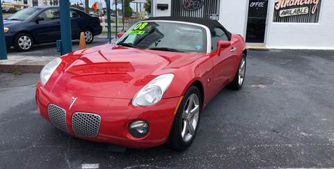 2008 Pontiac Solstice for sale in Holiday, FL