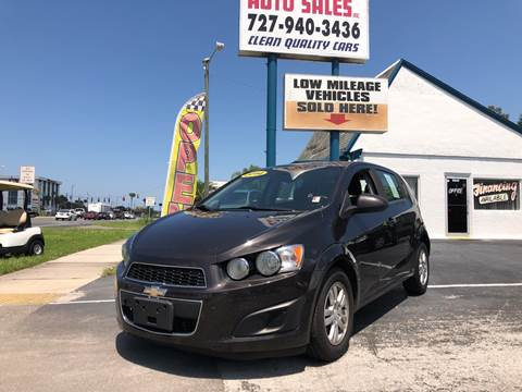 2014 Chevrolet Sonic for sale at Sunray Auto Sales Inc. in Holiday FL