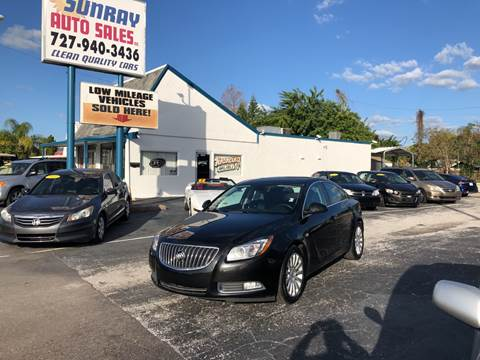 2011 Buick Regal for sale at Sunray Auto Sales Inc. in Holiday FL