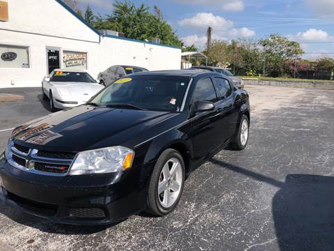 2013 Dodge Avenger for sale at Sunray Auto Sales Inc. in Holiday FL