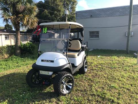 2018 Club Car Precedent for sale at Sunray Auto Sales Inc. in Holiday FL