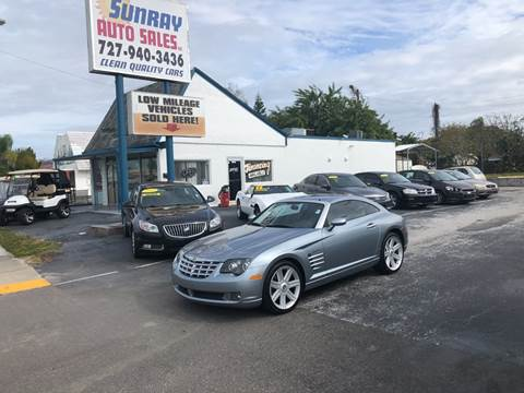 2008 Chrysler Crossfire for sale at Sunray Auto Sales Inc. in Holiday FL