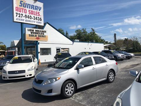 2010 Toyota Corolla for sale at Sunray Auto Sales Inc. in Holiday FL