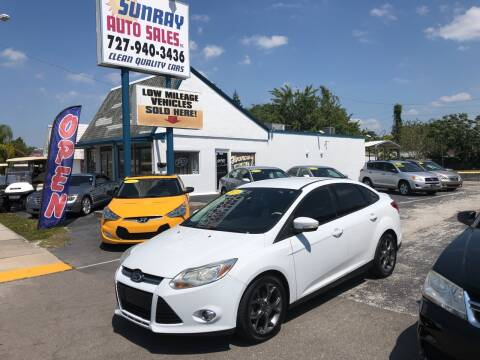 2013 Ford Focus for sale at Sunray Auto Sales Inc. in Holiday FL