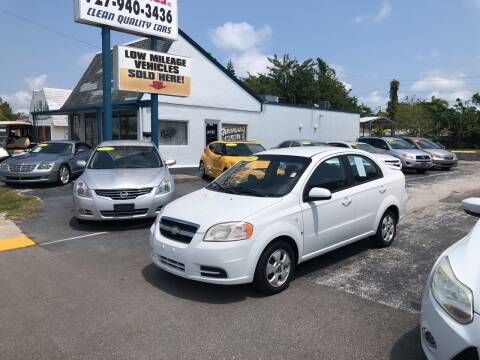 2007 Chevrolet Aveo for sale at Sunray Auto Sales Inc. in Holiday FL