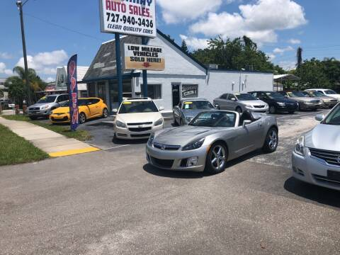 2008 Saturn SKY for sale at Sunray Auto Sales Inc. in Holiday FL