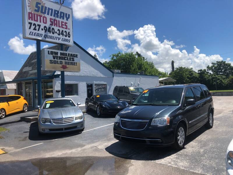 2014 Chrysler Town and Country for sale at Sunray Auto Sales Inc. in Holiday FL