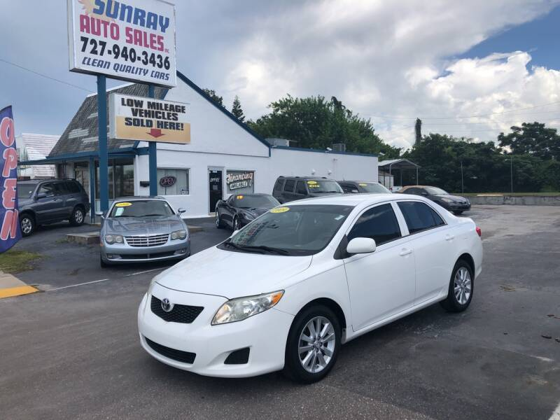 2009 Toyota Corolla for sale at Sunray Auto Sales Inc. in Holiday FL