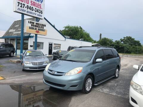 2008 Toyota Sienna for sale at Sunray Auto Sales Inc. in Holiday FL